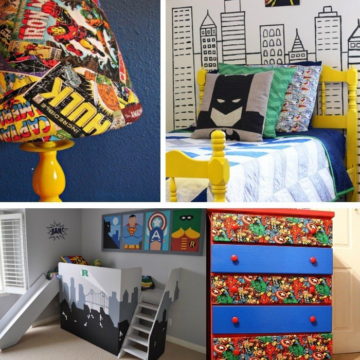 Best Awesome Superhero Ideas For Kids Bedrooms With Pictures