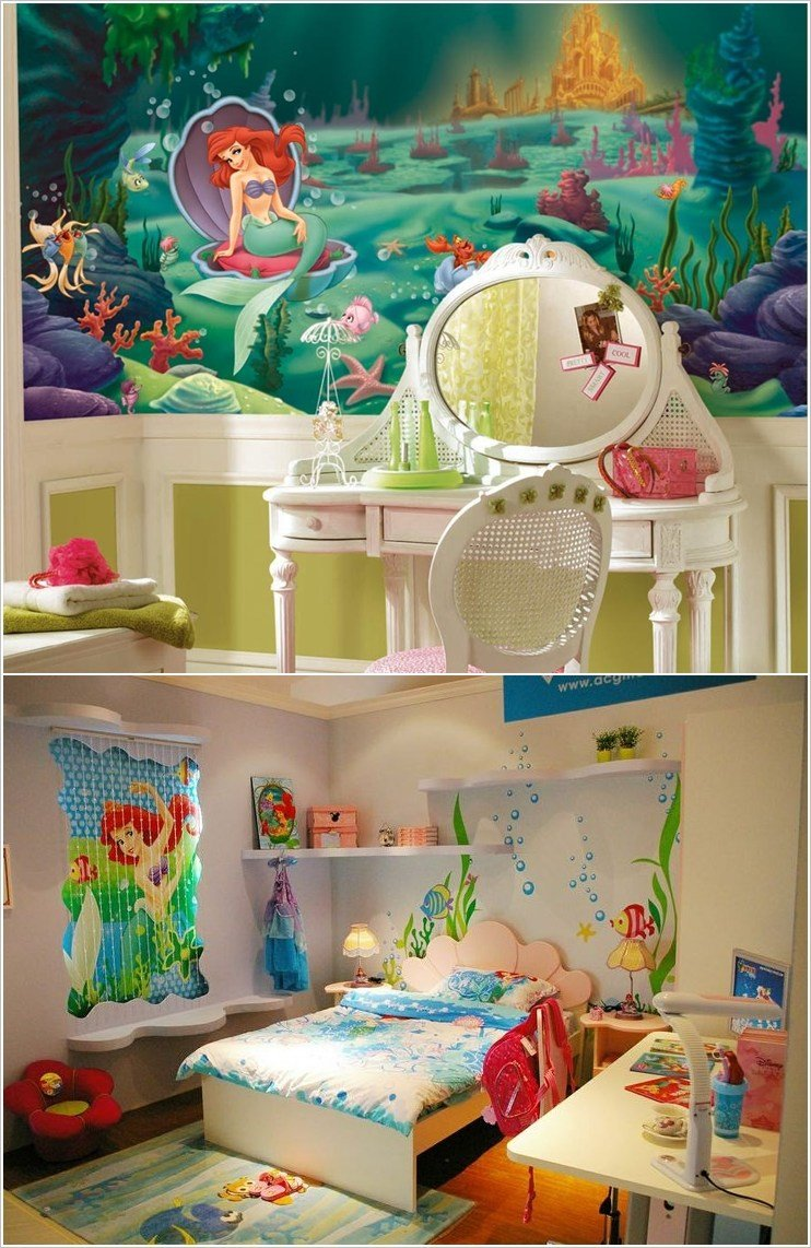 Best 10 Adorable Disney Inspired Kids Room Ideas Architecture Design With Pictures