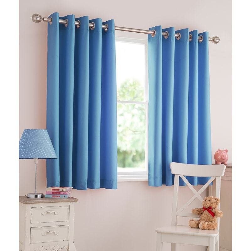 Best Silentnight Kids Light Reducing Eyelet Curtains Curtains B M With Pictures