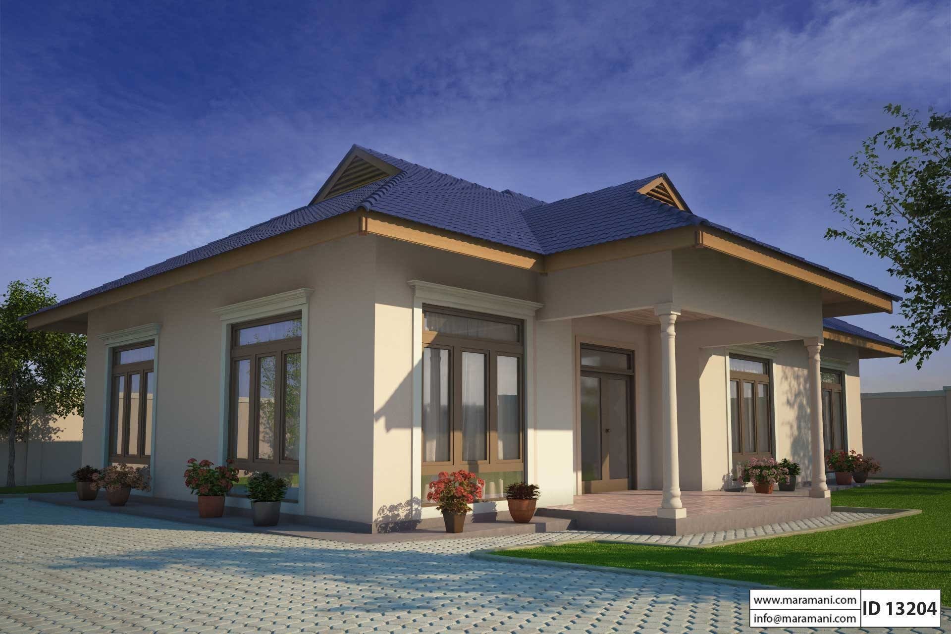 Best Small Three Bedroom House Plan Id 13204 Floor Plans By Maramani With Pictures
