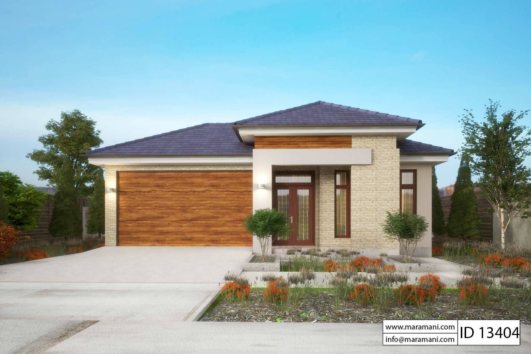 Best 3 Bedroom House Plan Id 13404 House Designs By Maramani With Pictures