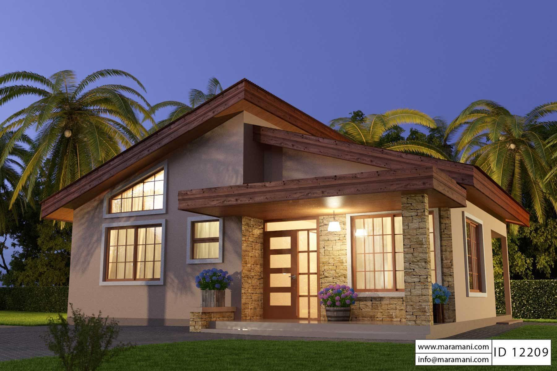 Best 2 Bedroom House Plan Id 12209 House Plans By Maramani With Pictures