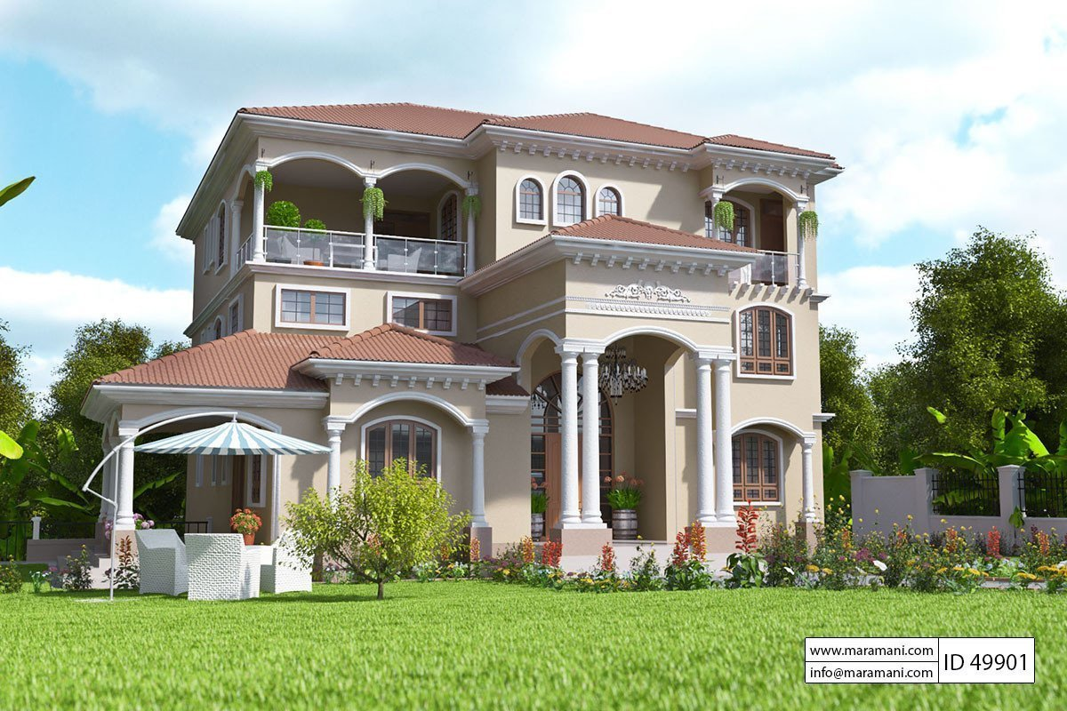 Best 9 Bedroom House Design Id 49901 House Designs By Maramani With Pictures
