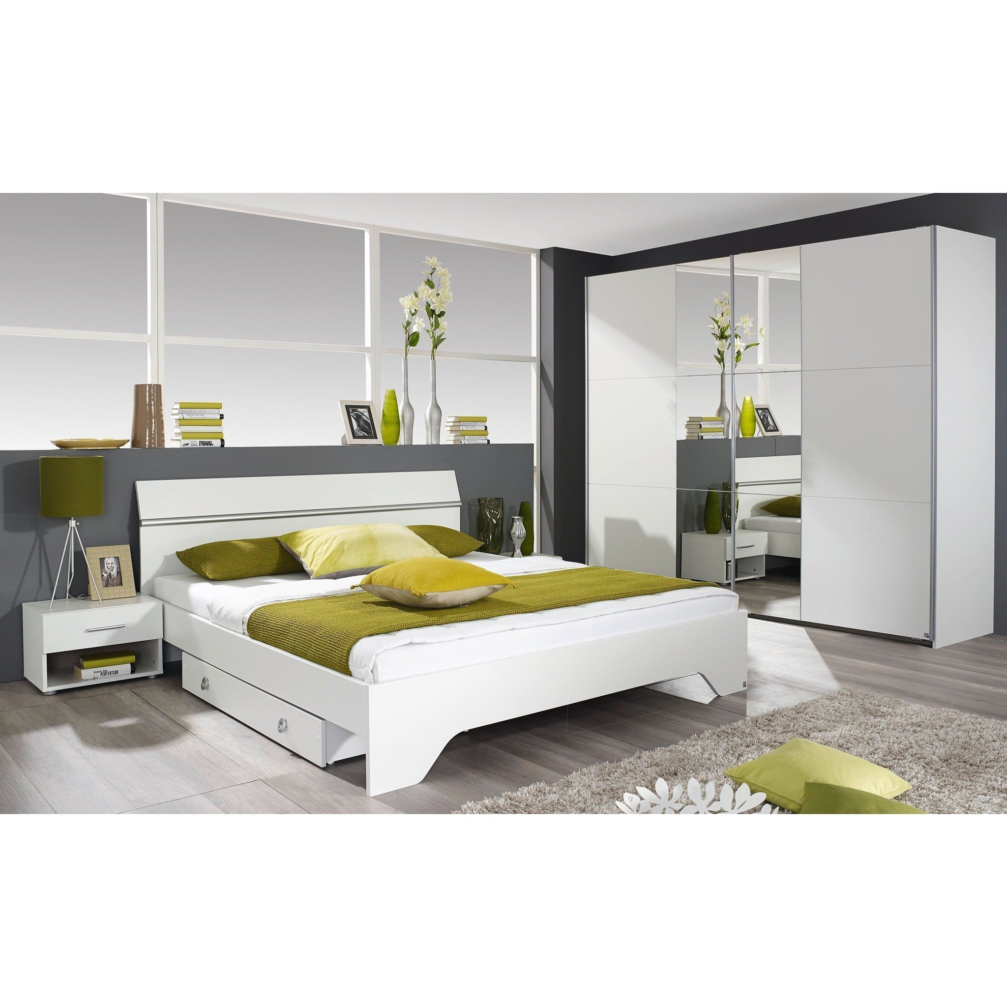 Best Rauch Fellbach Range German Made Bedroom Furniture White Finish – Freedom Homestore With Pictures