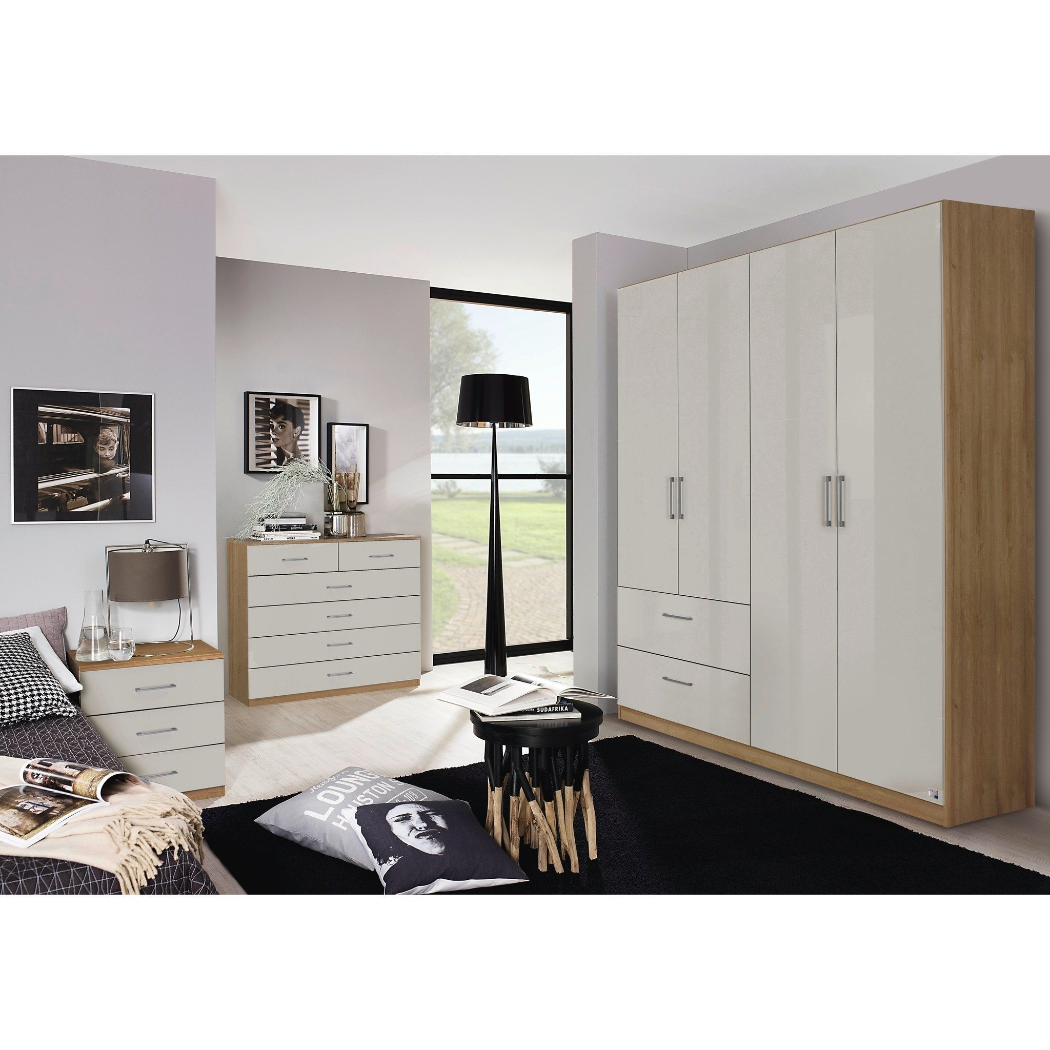 Best Rauch Morella Range German Made Bedroom Furniture Riviera Oak Glo – Freedom Homestore With Pictures