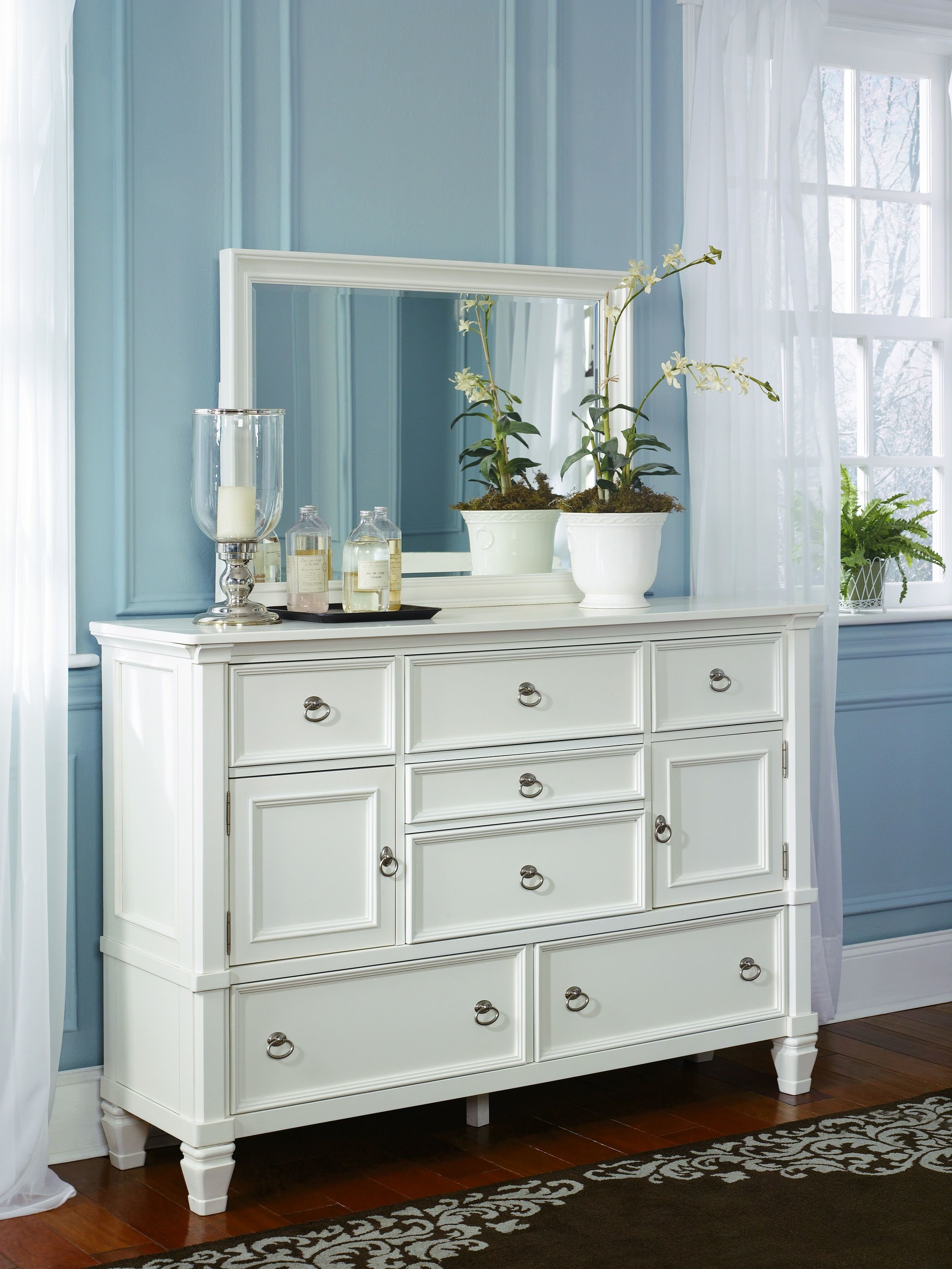 Best Ashley Furniture Prentice Dresser And Bedroom Mirror The With Pictures