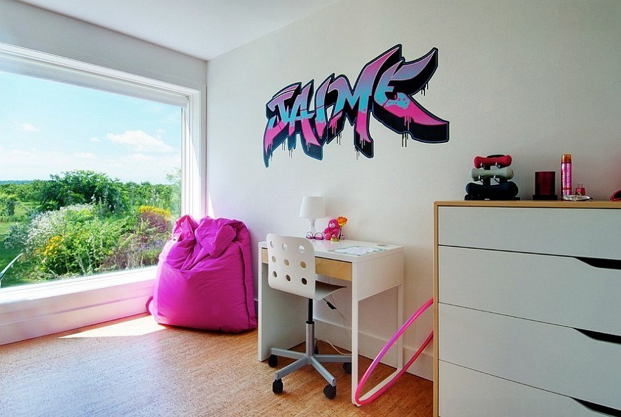 Best Graffiti Interiors Home Art Murals And Decor Ideas With Pictures