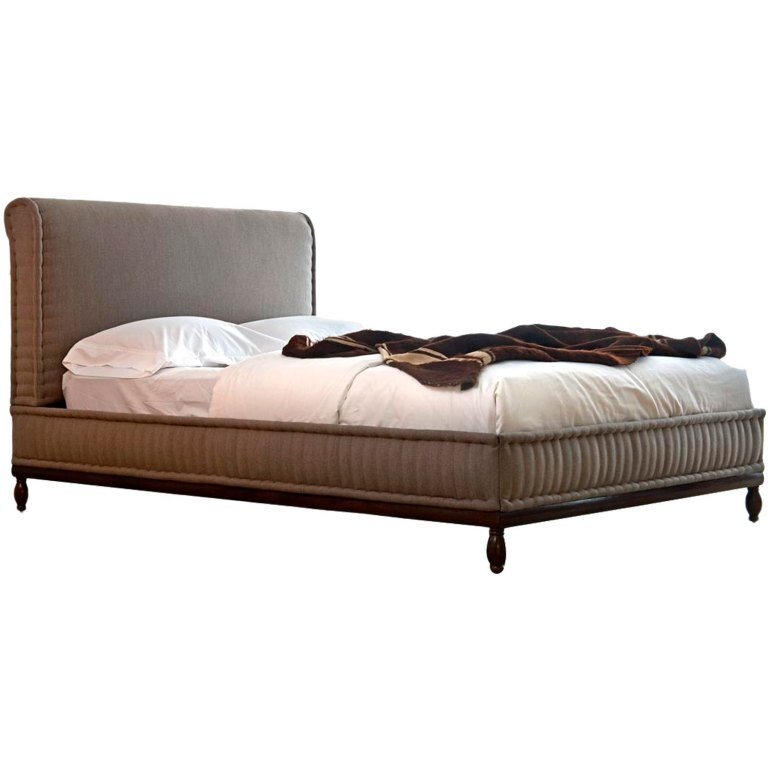 Best Brampton Bed Transitional Mid Century Modern With Pictures