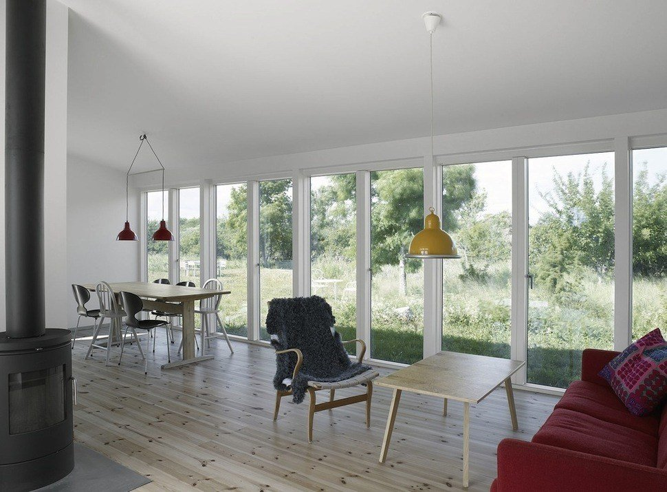 Best Small Swedish House Made From Boards And Corrugated Metal With Pictures