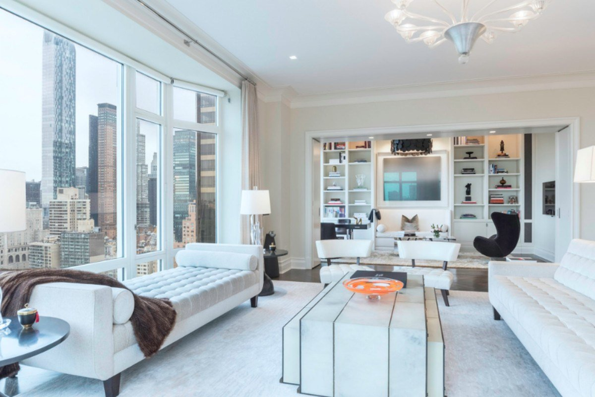 Best Revamped 15 Central Park West Condo With Stellar Views Asks 70K Month Curbed Ny With Pictures