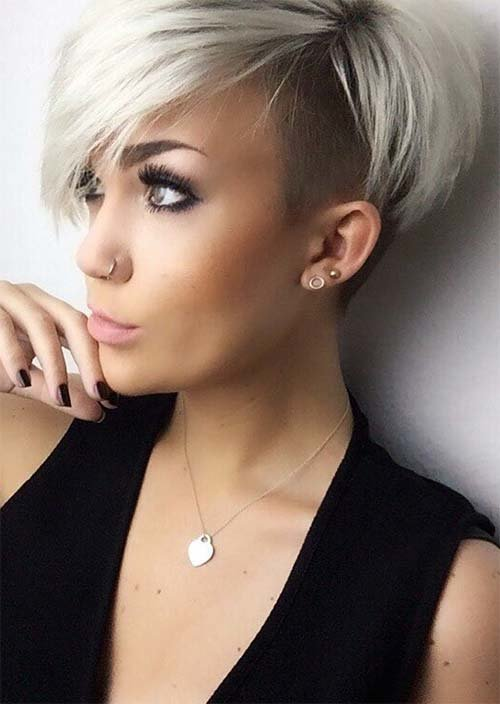 Free 51 Edgy And Rad Short Undercut Hairstyles For Women Glowsly Wallpaper