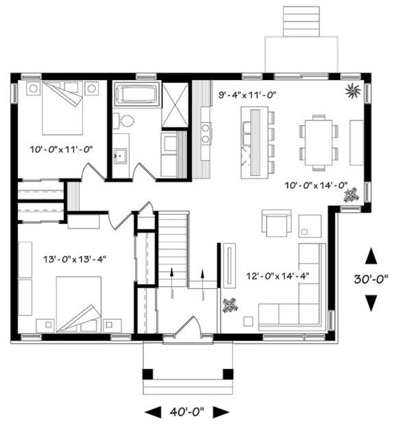 Best Cool Modern House Plan Designs With Open Floor Plans With Pictures