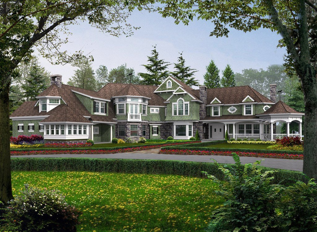 Best Craftsman Style House Plan 5 Beds 5 5 Baths 7400 Sq Ft With Pictures