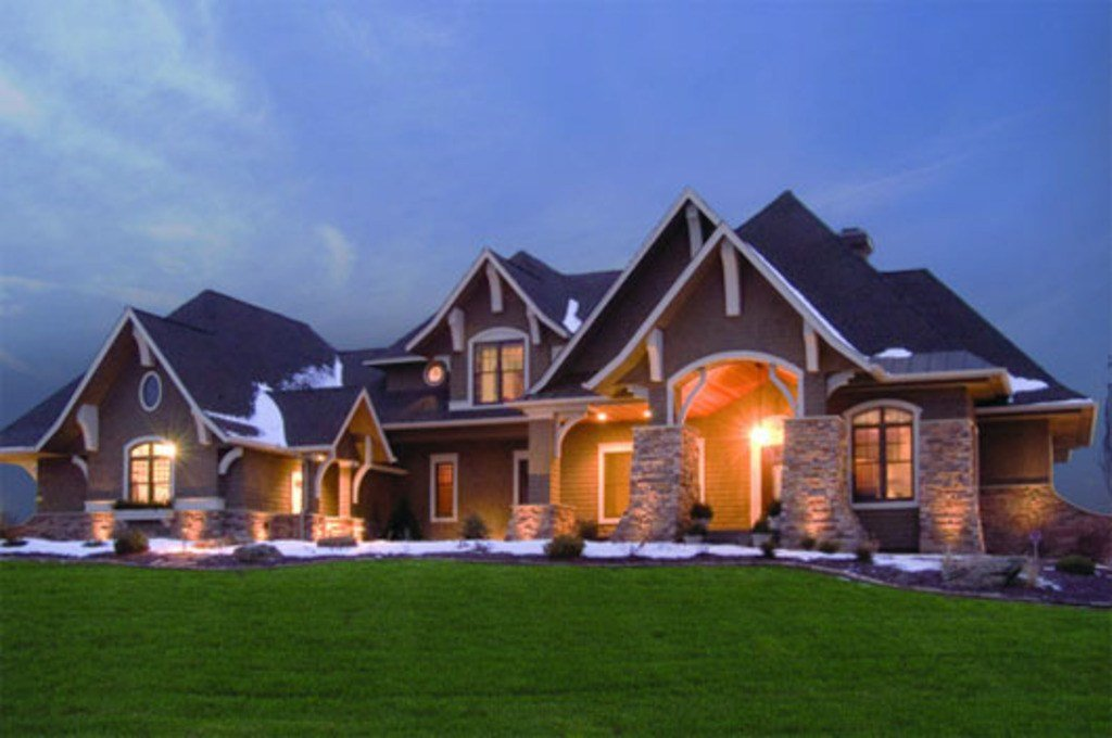 Best Craftsman Style House Plan 5 Beds 4 Baths 5077 Sq Ft With Pictures