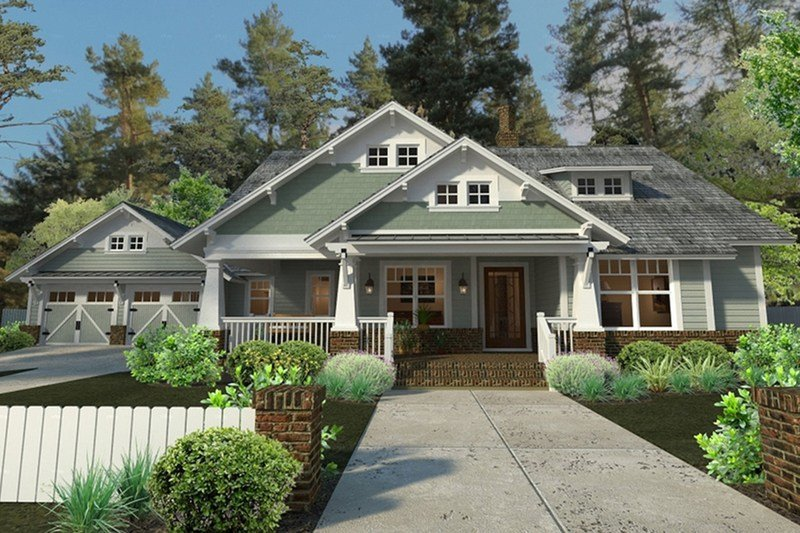 Best Craftsman Style House Plan 3 Beds 2 Baths 1879 Sq Ft With Pictures