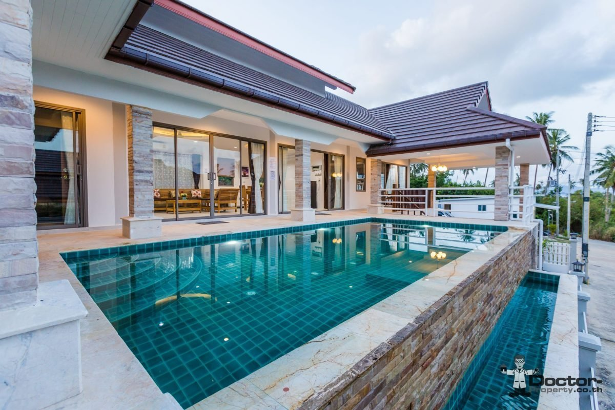 Best New Finished 3 Bedroom Villa In Bophut Koh Samui – For With Pictures