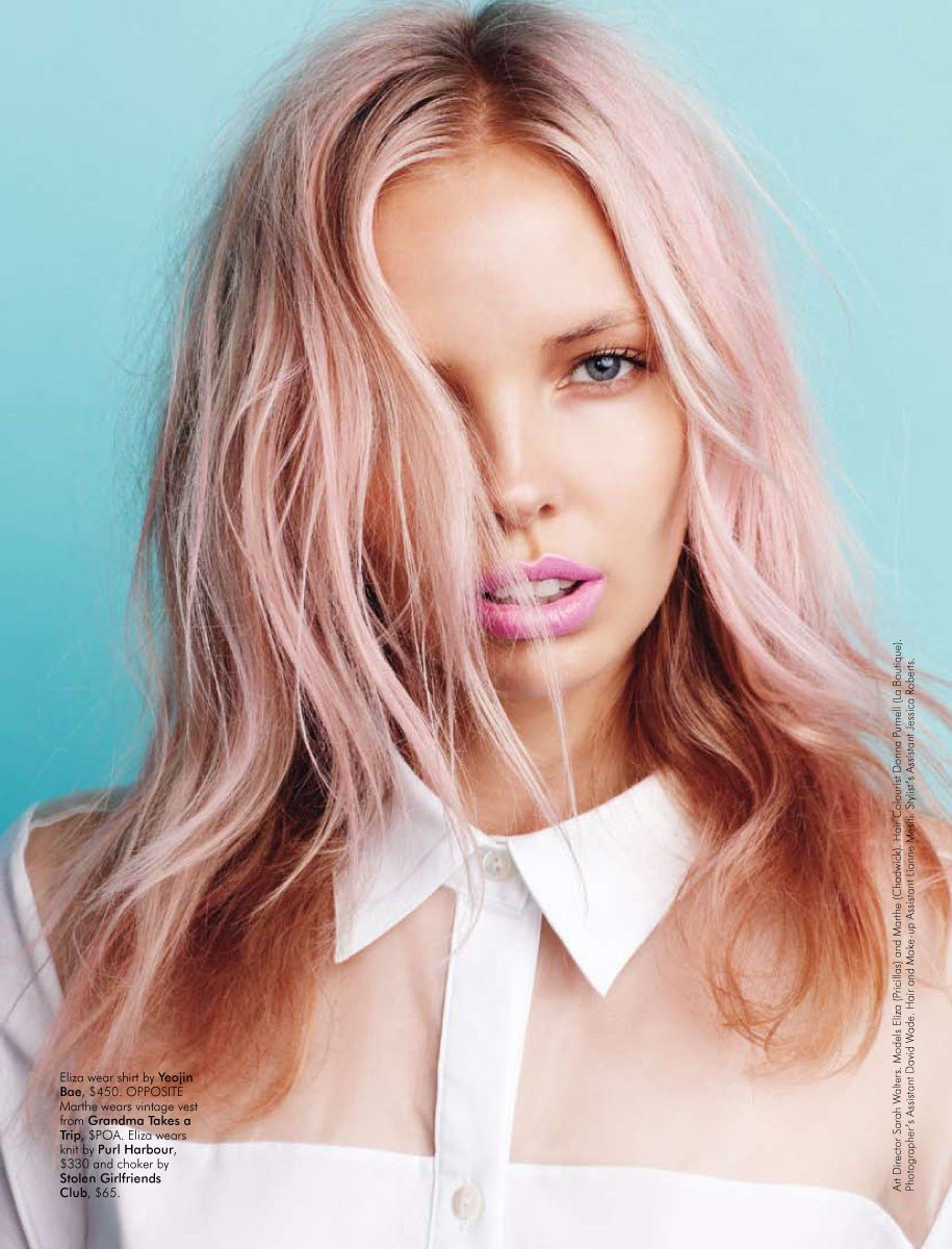Free Pastel Hair Design Diys Wallpaper