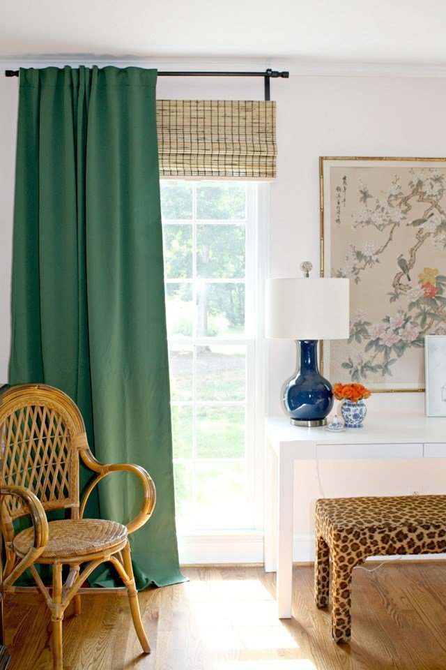 Best Green Ikea Curtains For Our Bedroom Emily A Clark With Pictures