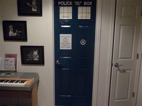 Best I Made A Tardis Bedroom Door Without Instructions Or Any With Pictures