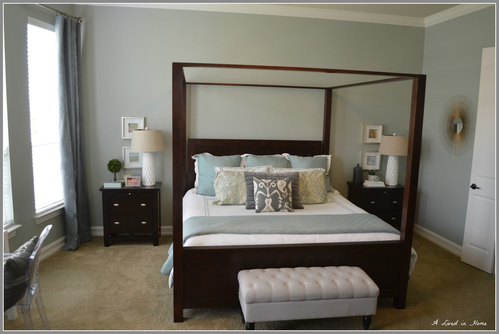 Best 7 Paint Colors For Bedrooms With Dark Wood Furniture With Pictures