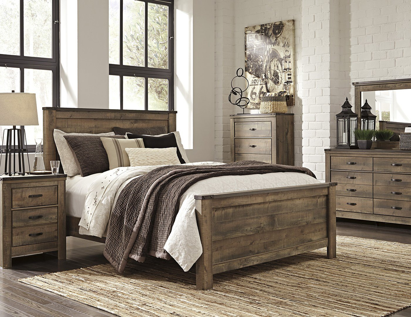 Best Trinell 5 Pc King Bedroom Set Steinhafels With Pictures