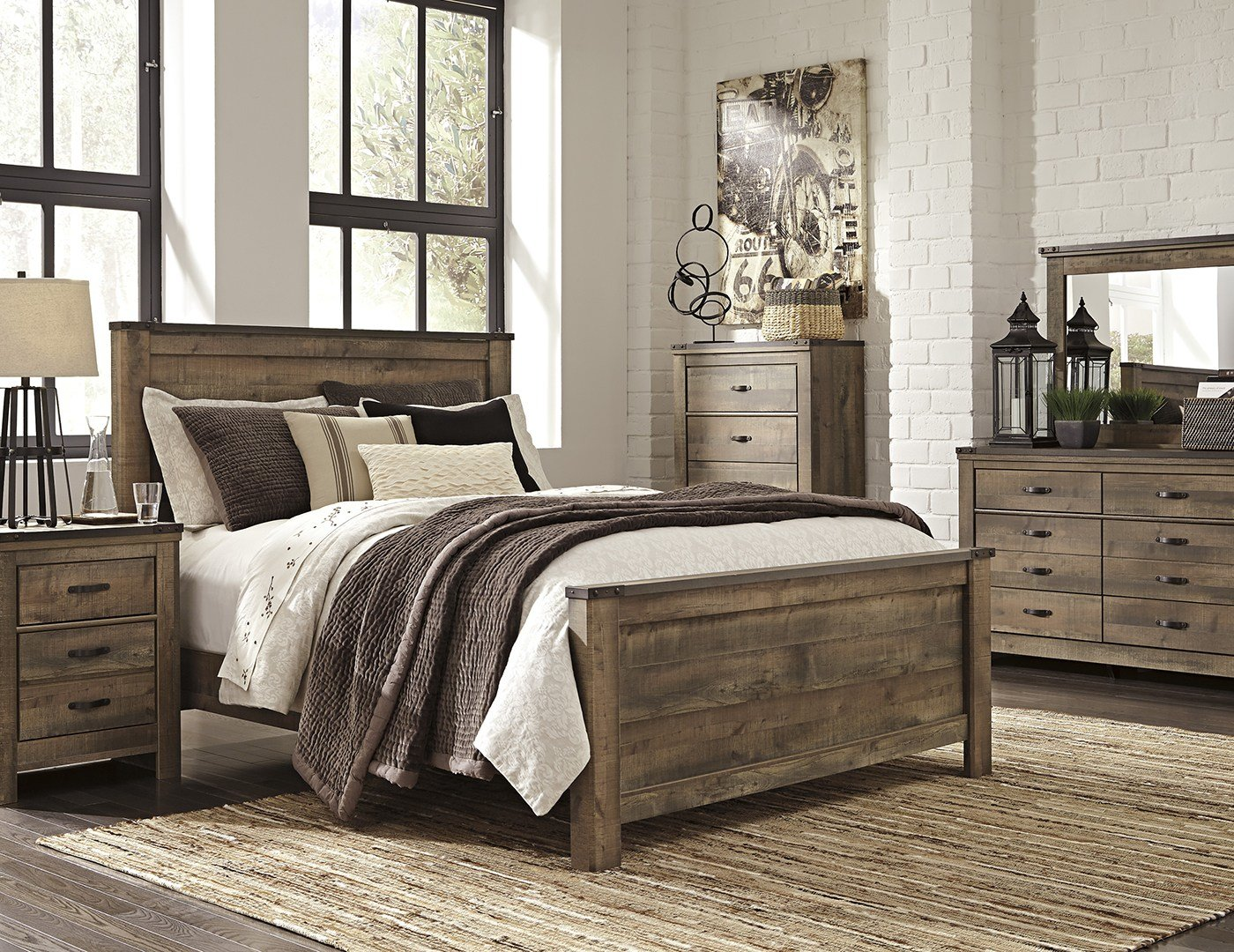 Best Trinell 5 Pc Queen Bedroom Set Steinhafels With Pictures