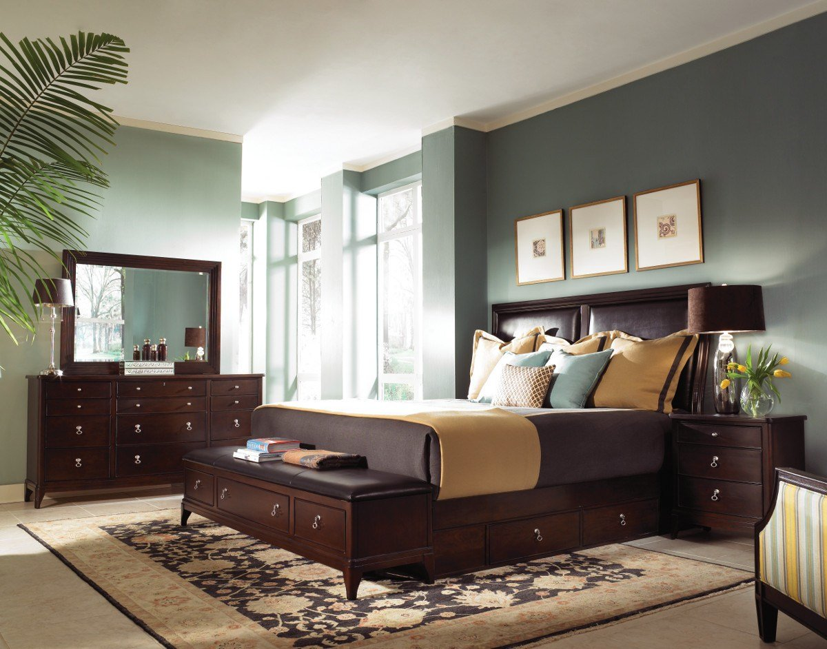 Best Advantage Bedroom Designs With Dark Brown Furniture Ideas With Pictures