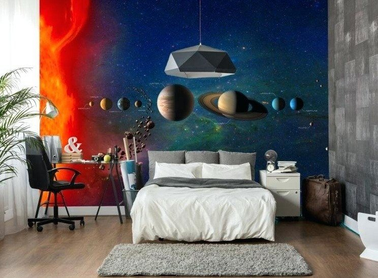 Best 10 Creative Science Themed Bedroom Ideas Home Interiors With Pictures
