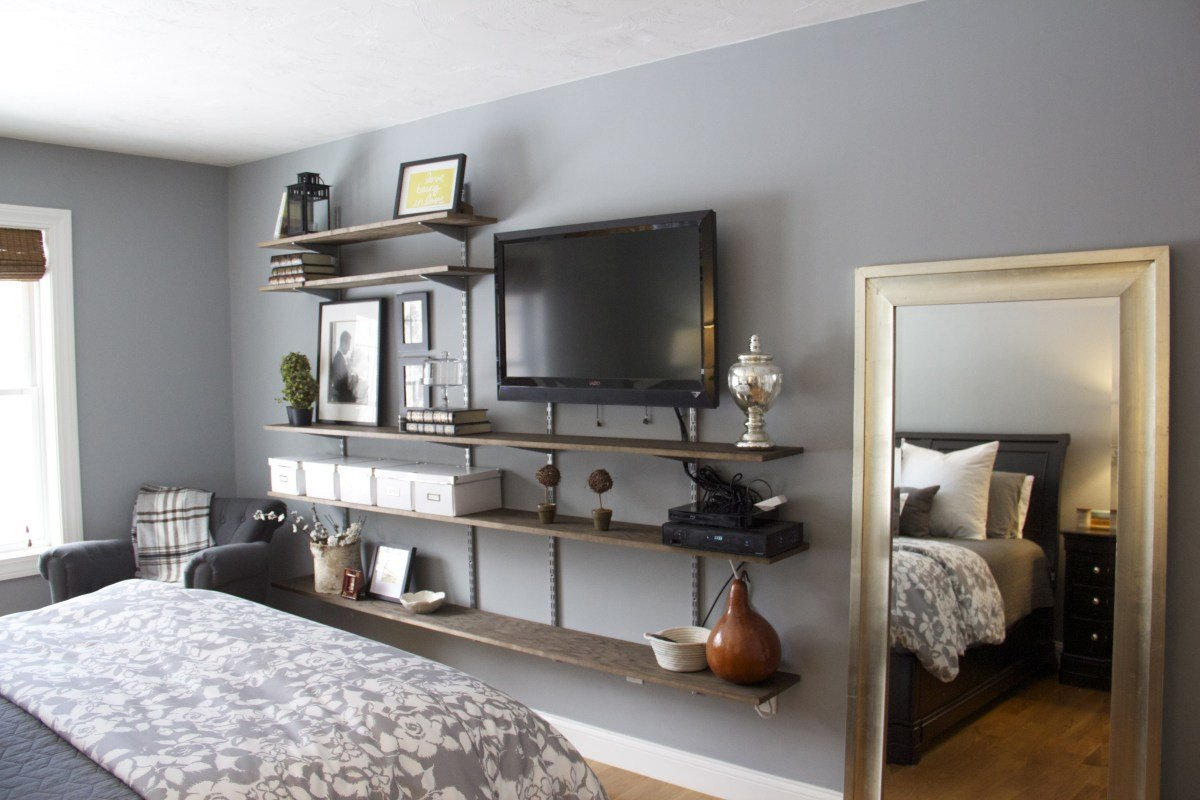 Best Interior Furniture Bedroom Shelves Design Ideas Tv Wall With Pictures