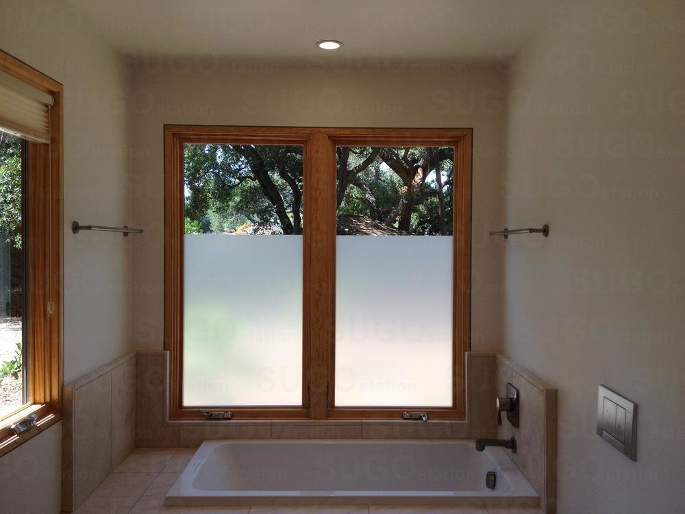 Best 3Ftx72 Frosted Home Privacy Bedroom Bathroom Window Tint With Pictures