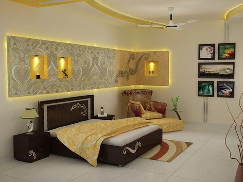 Best Master Bedroom Interior Decoration Services In 50 Sector With Pictures