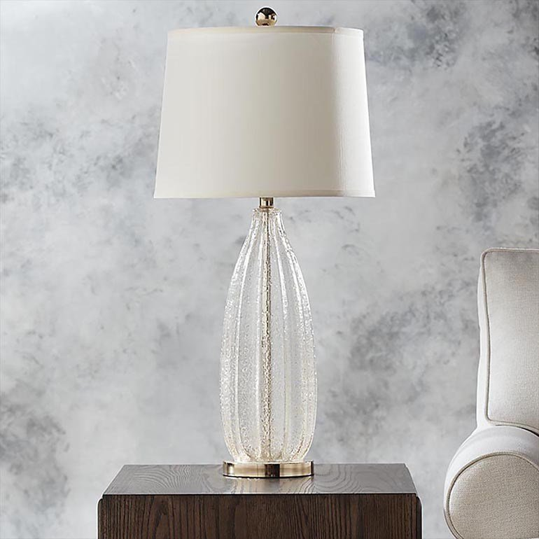 Best Glass Table Lamp For Bedroom Or End Table With Pictures