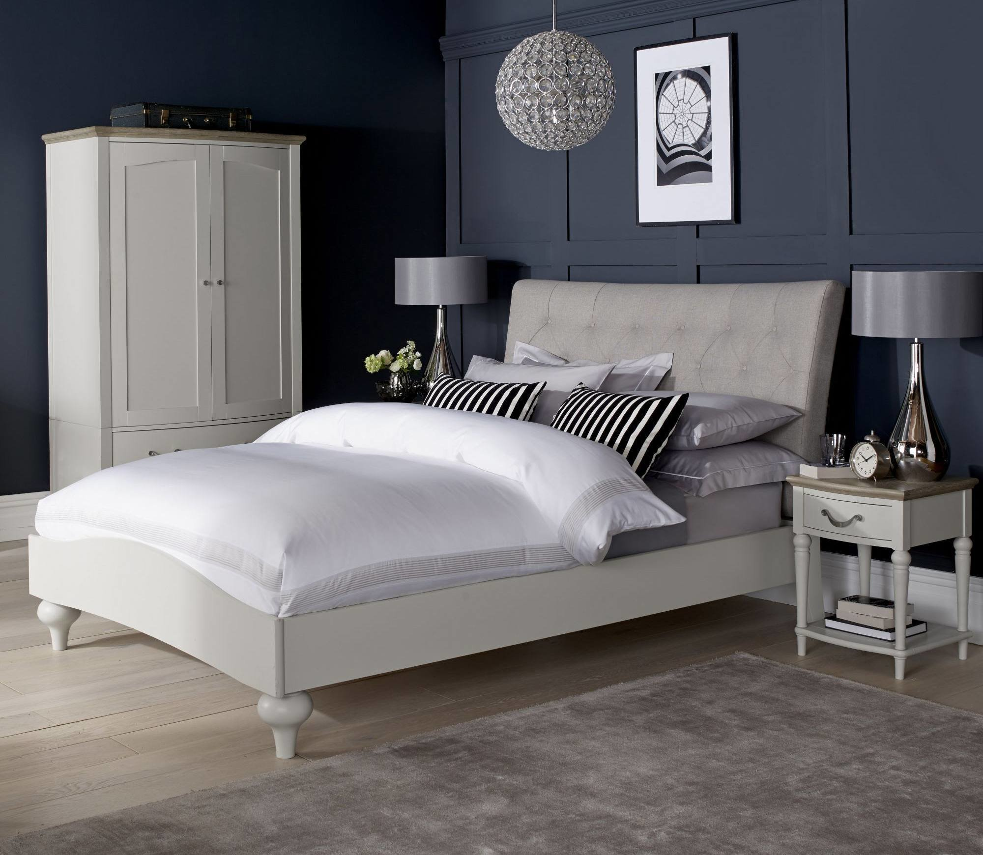 Best Bentley Designs Montreux Washed Oak Soft Grey Bedroom With Pictures