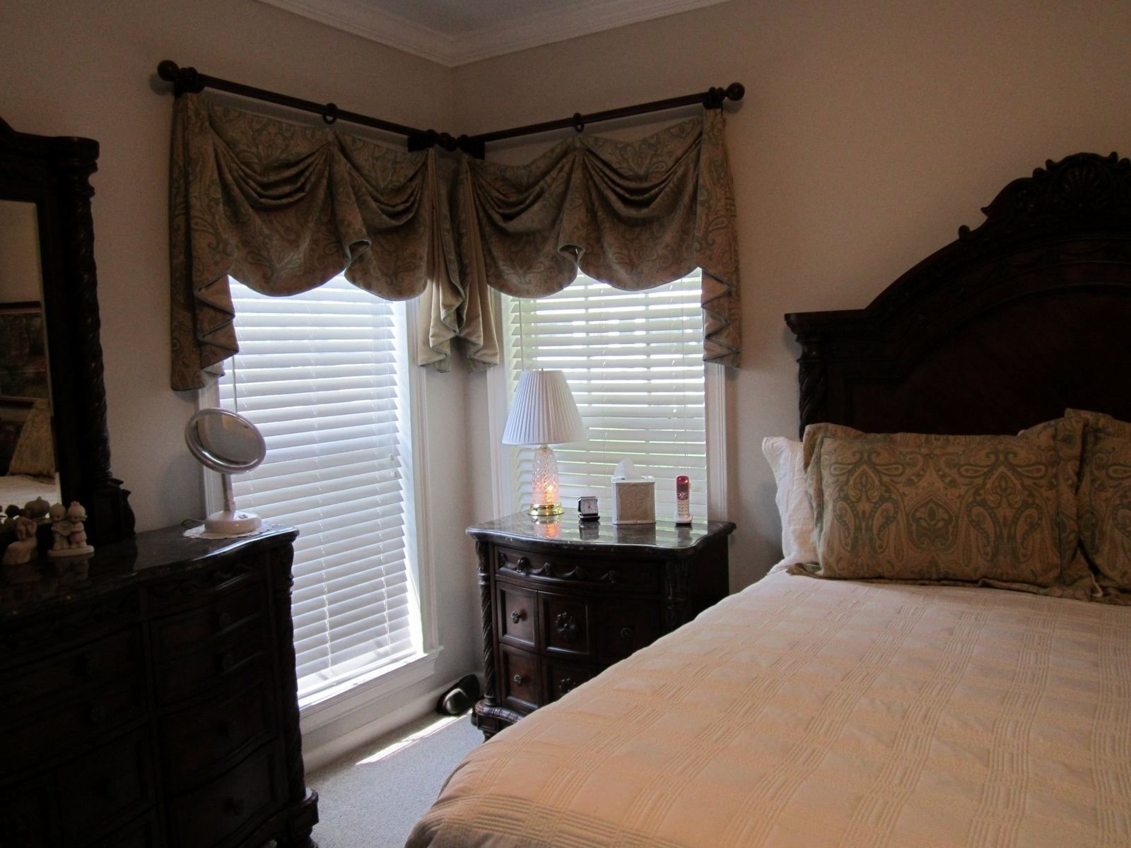 Best Custom Valances For Master Bedroom With Matching Pillow With Pictures