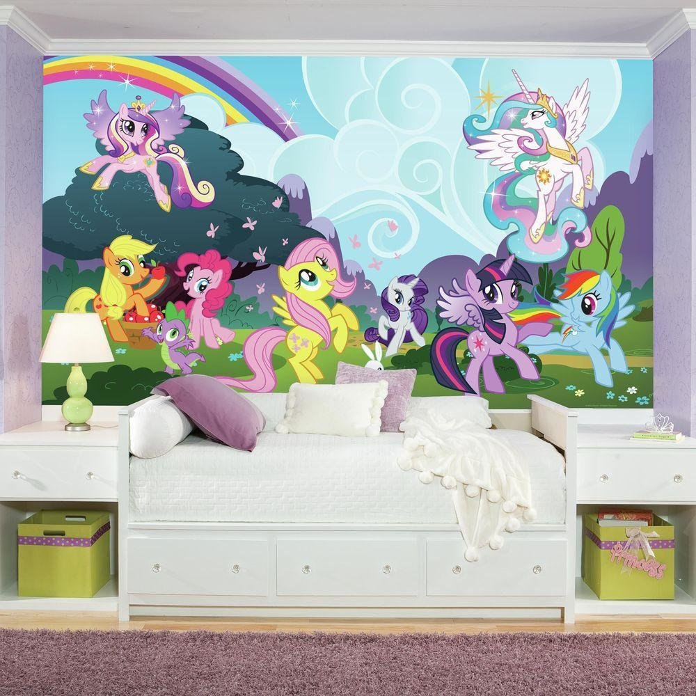 Best Roommates 72 In X 126 In My Little Pony Ponyville Xl With Pictures