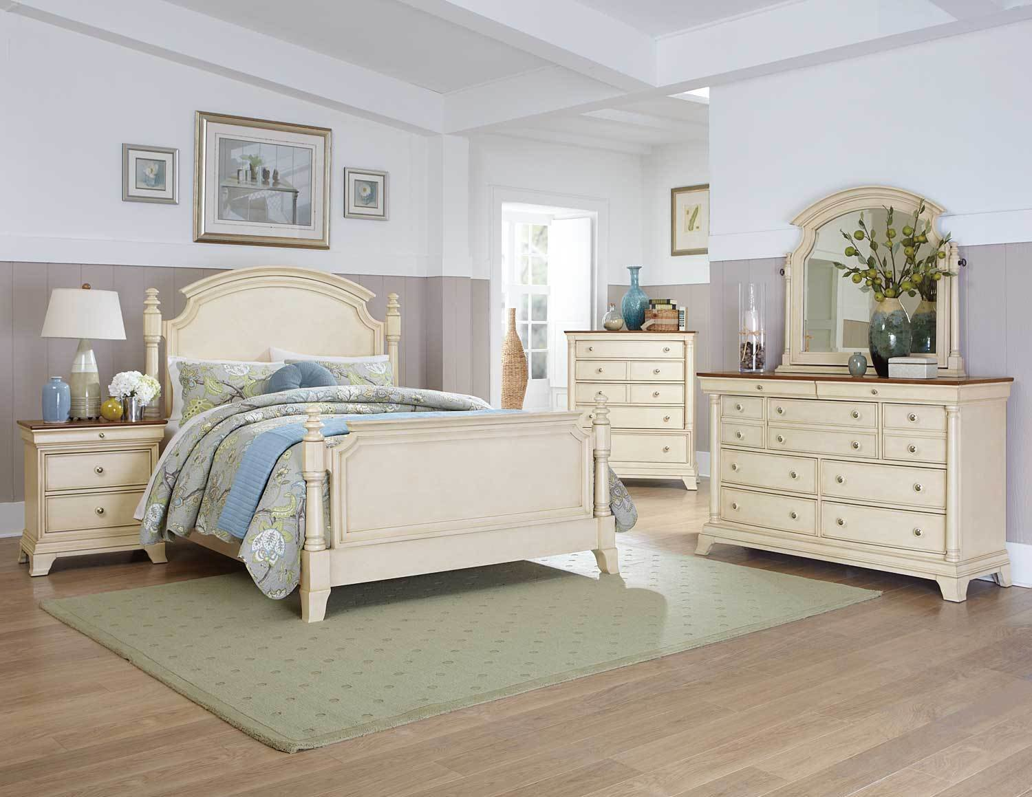 Best Homelegance Inglewood Ii Bedroom Set White B1402W Bed With Pictures