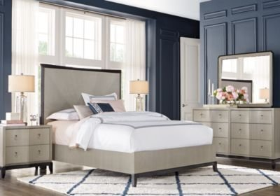 Best Sofia Vergara Arbella Gray 5 Pc King Panel Bedroom King With Pictures