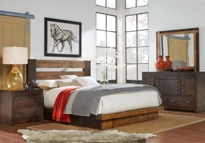 Best Dark Wood King Bedroom Sets Cherry Espresso Mahogany Brown Etc With Pictures