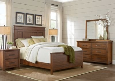 Best Urban Plains Brown 5 Pc King Panel Bedroom King Bedroom With Pictures