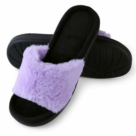 Best Women S Indoor Household Plush Shoes Warm Soft Anti Slip With Pictures