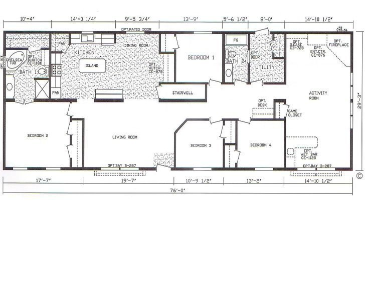 Best 25 Mobile Home Floor Plans Ideas On Pinterest With Pictures