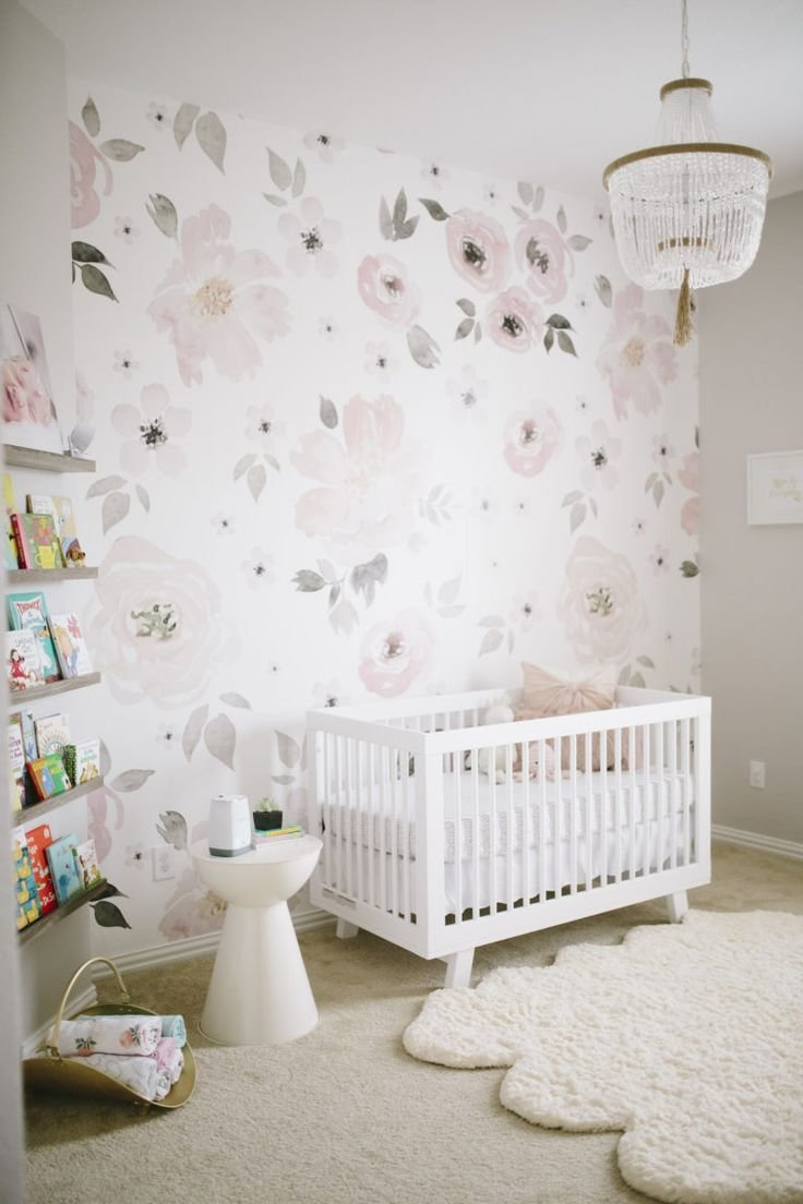 Best Harper S Floral Whimsy Nursery Floral Nursery Ideas With Pictures