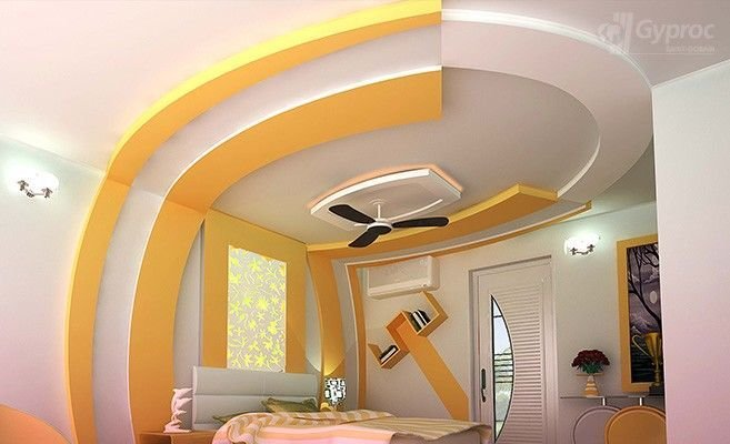 Best False Ceiling Designs For Bedroom Saint Gobain Gyproc With Pictures