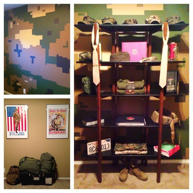 Best Marine Corps Man Cave Office Bedroom Man Cave With Pictures