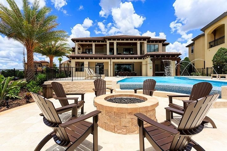 Best Orlando Vacation Rental Fire Pit Reunion Resort Villa With Pictures
