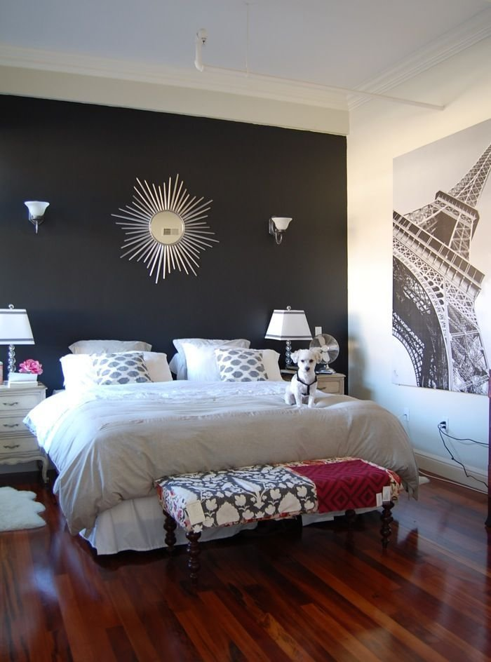 Best 25 Black Accent Walls Ideas On Pinterest Black Accents Teal Master Bedroom Furniture With Pictures