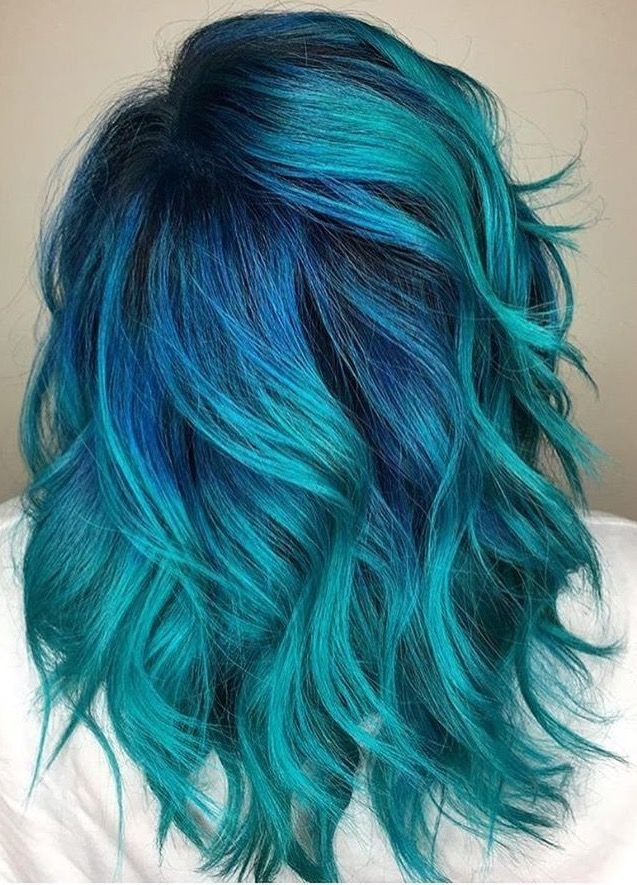 Free Best 25 Teal Hair Color Ideas On Pinterest Teal Ombre Wallpaper