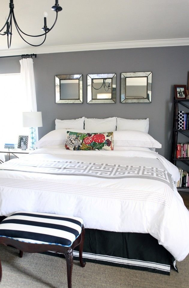 Best 25 Mirror Over Bed Ideas On Pinterest 3 Mirrors Over Bed Master Bedroom Chandelier And With Pictures