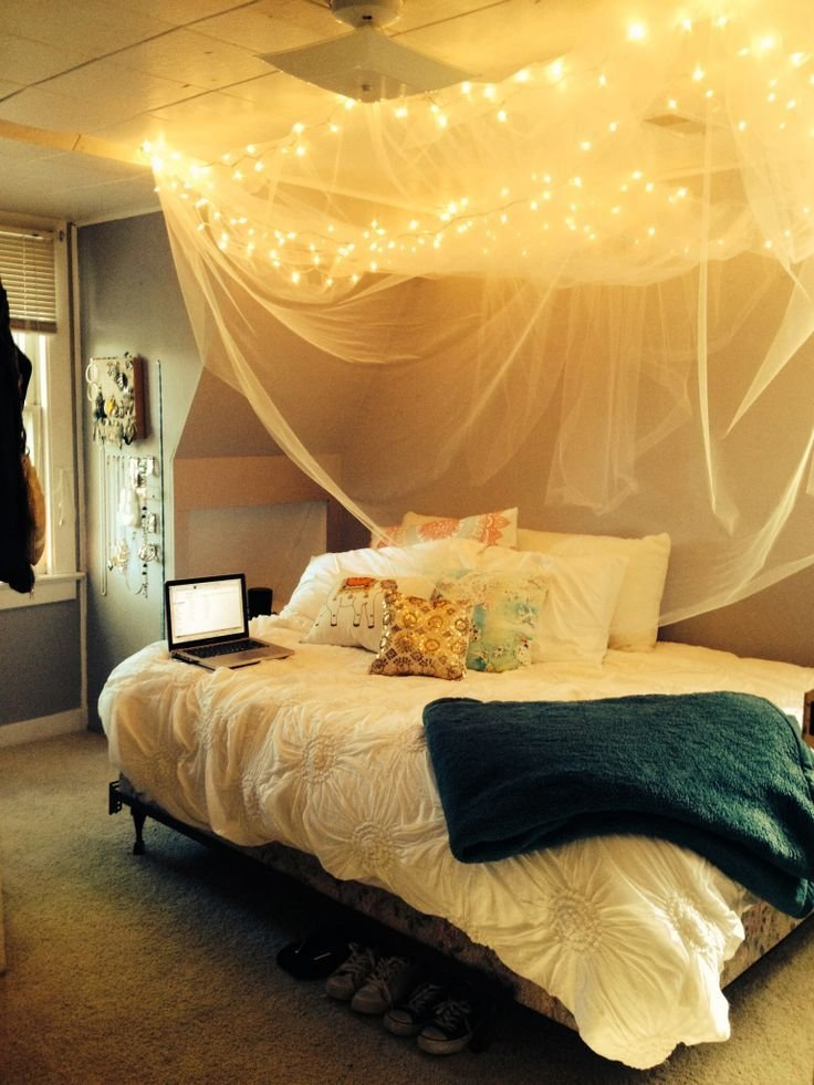 Best Diy Rustic Bed Canopy Home Decor Dorm Canopy Dorm With Pictures