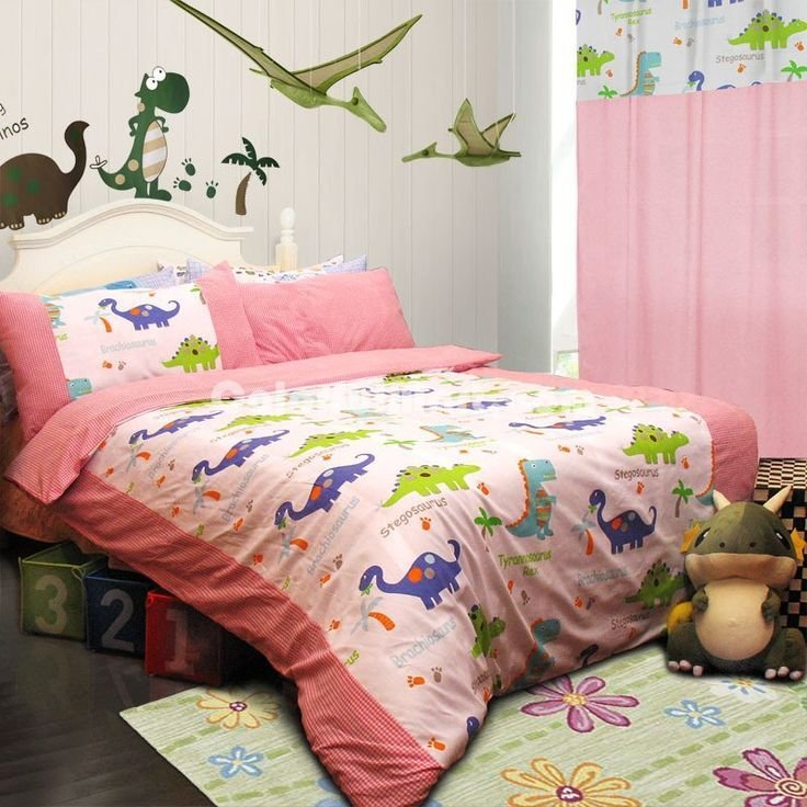 Best Dinosaur Homes Pink Dinosaur Bedding Set Moms Create With Pictures